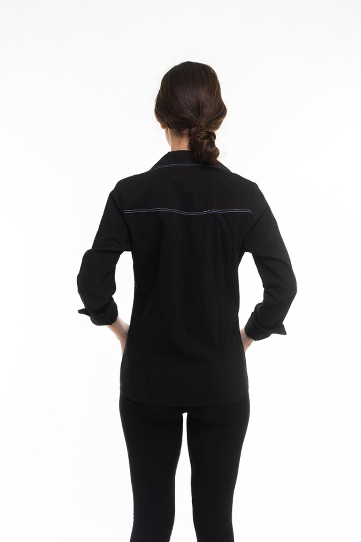 Uzun Kol Bayan Gömlek