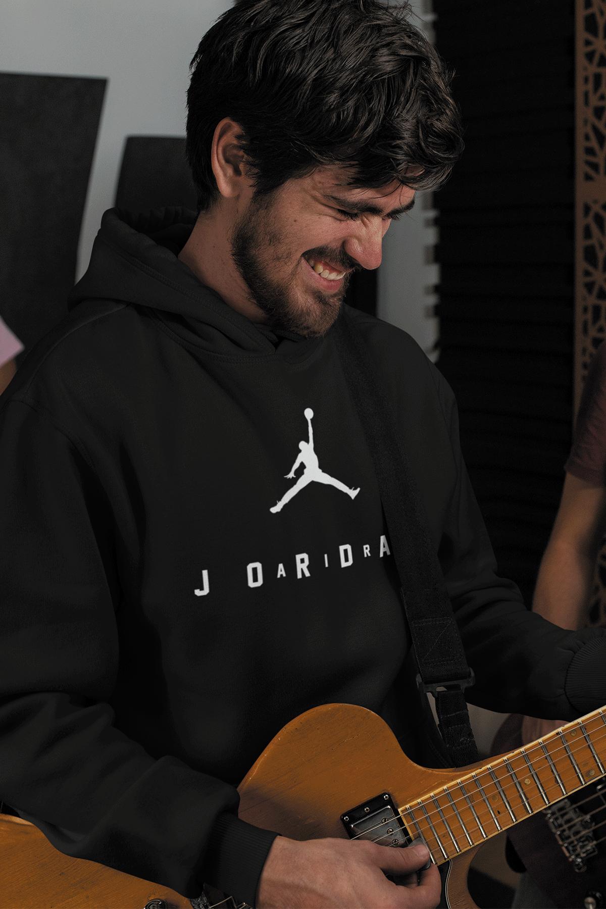 Air Jordan 10 Siyah NBA Erkek Kapşonlu Sweatshirt - Hoodie