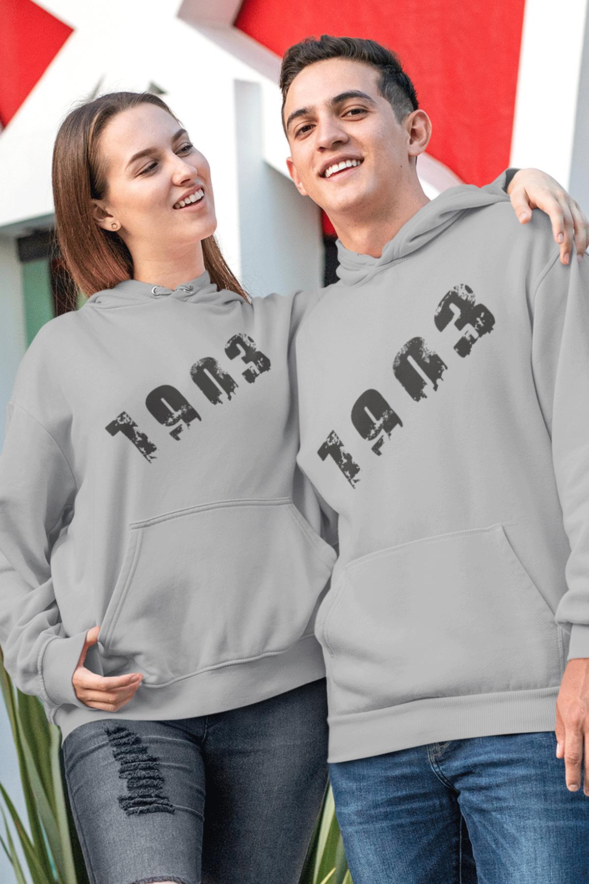 Sevgili Kombini BJK 01-1 Gri Kapşonlu Sweatshirt - Tek Ürün Fiyatıdır.
