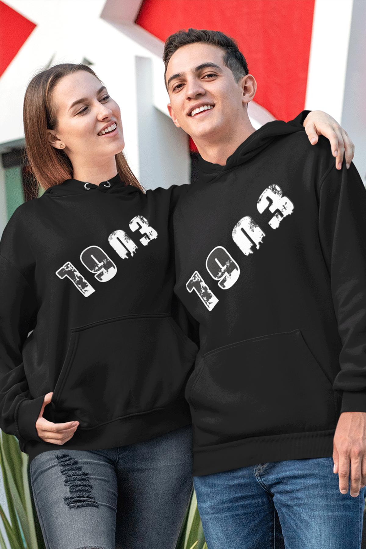 Sevgili Kombini BJK 01-1 Siyah Kapşonlu Sweatshirt - Tek Ürün Fiyatıdır.
