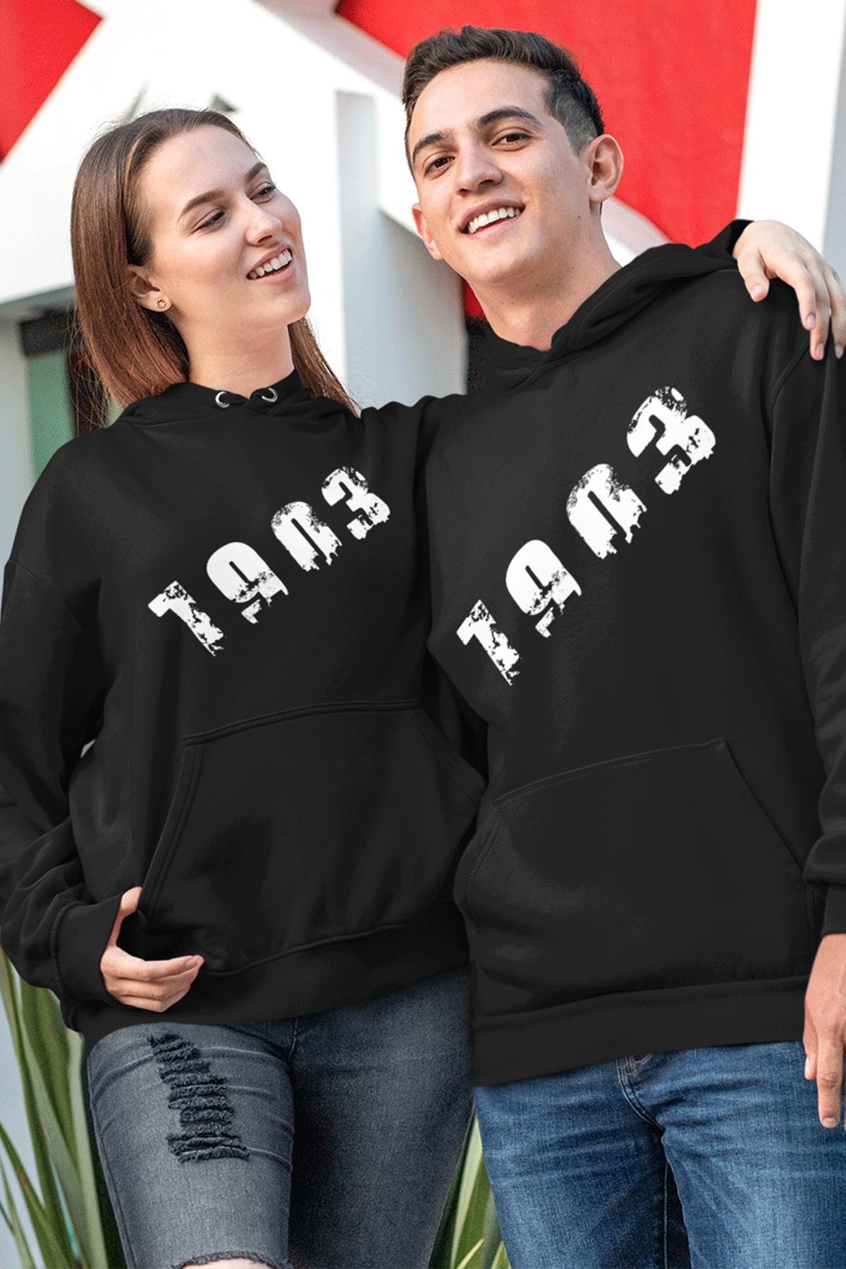 Sevgili Kombini BJK 01 Siyah Kapşonlu Sweatshirt - Tek Ürün Fiyatıdır.