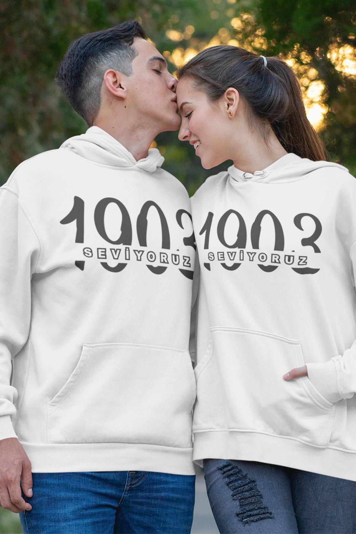 Sevgili Kombini BJK 02 Beyaz Kapşonlu Sweatshirt - Tek Ürün Fiyatıdır.