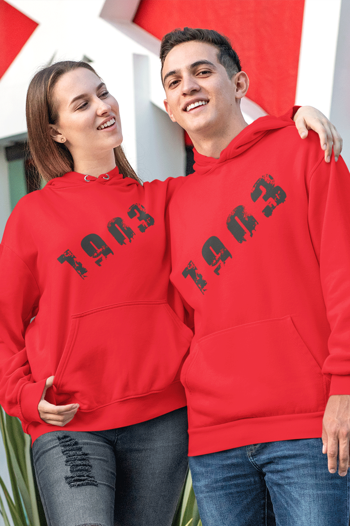 Sevgili Kombini BJK 01 Kırmızı Kapşonlu Sweatshirt - Tek Ürün Fiyatıdır.