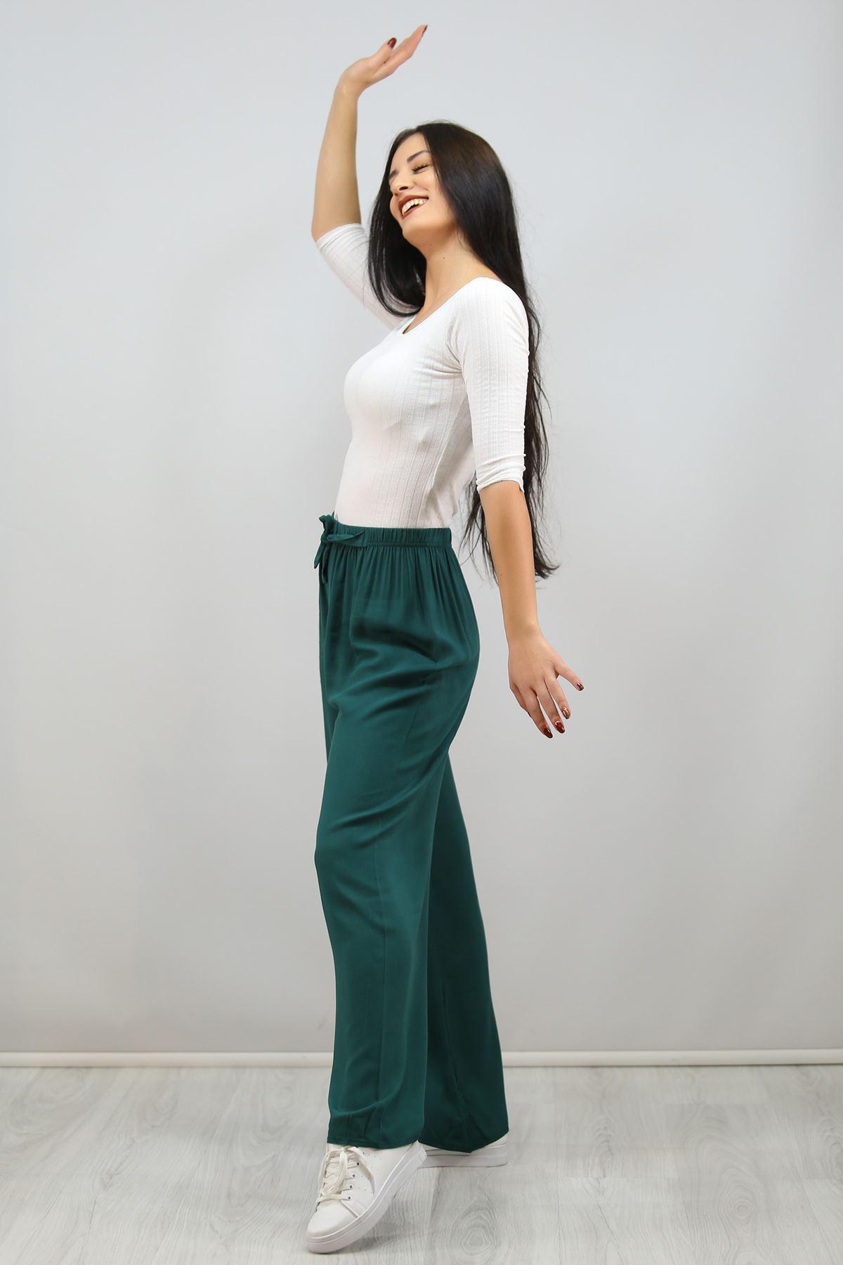 Dokuma Pantolon Yeşil - 1005.1095.
