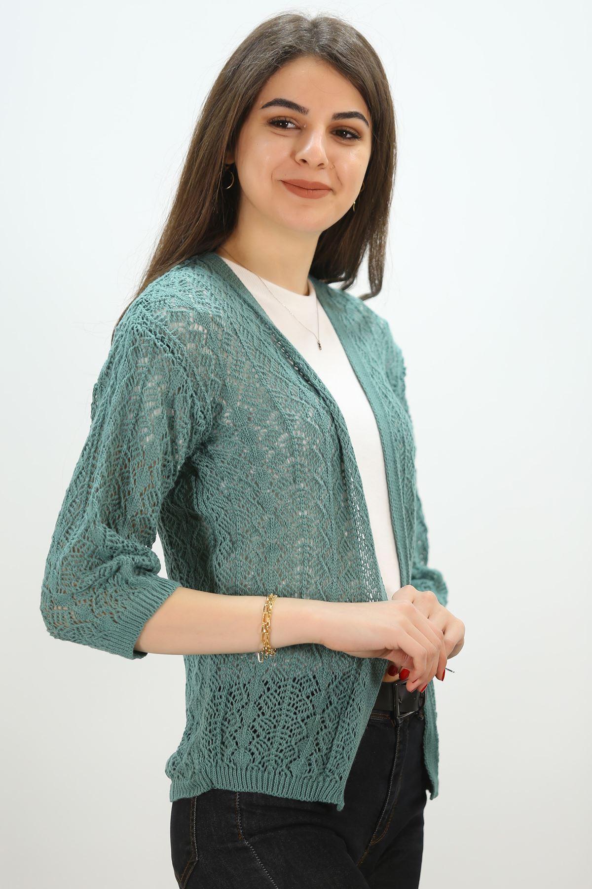 Ajurlu Hırka Çağla - 3649.109.