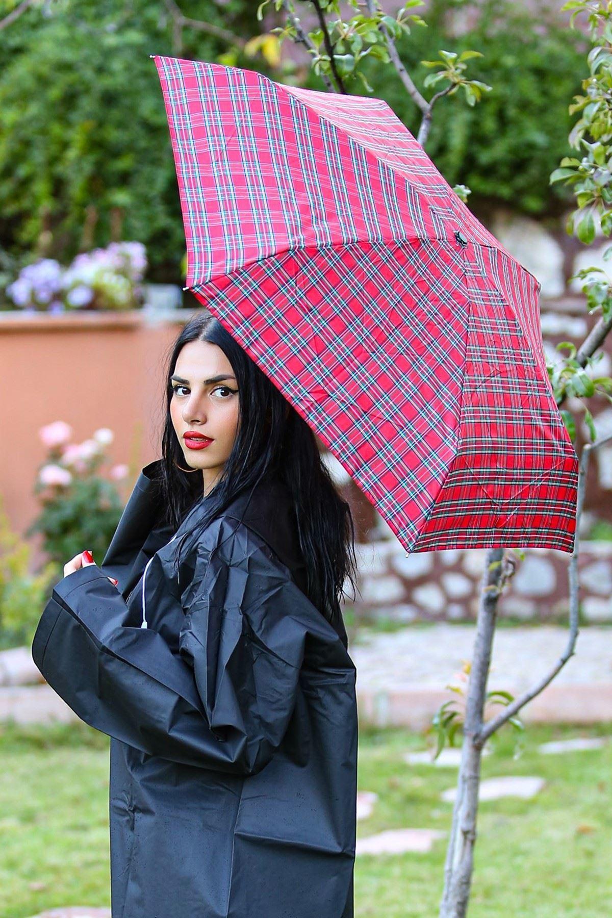 Ayıcıklı Şemsiye Kırmızı - 4436.1100.