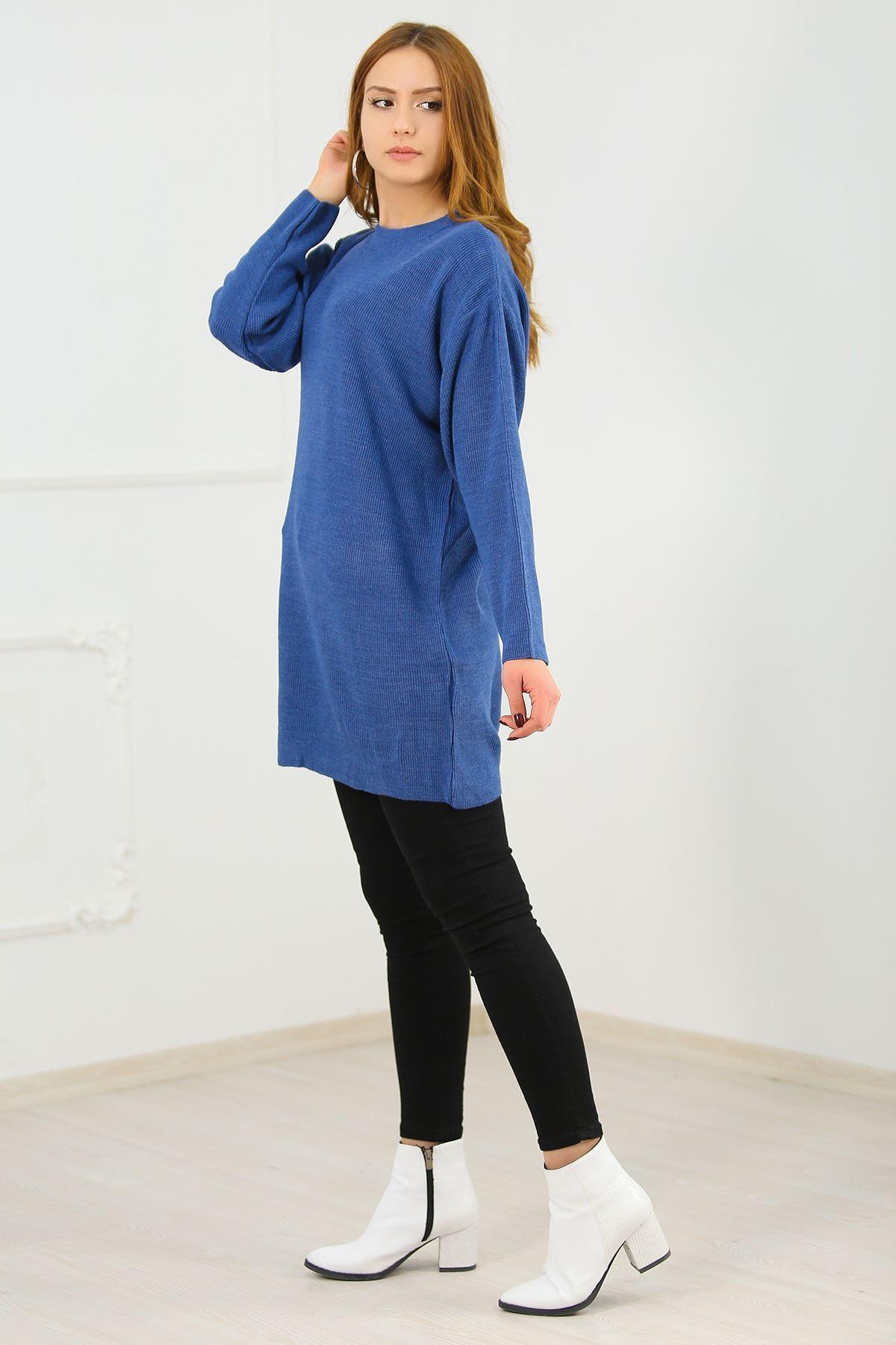 Triko Tunik Mavi - 5323.109.