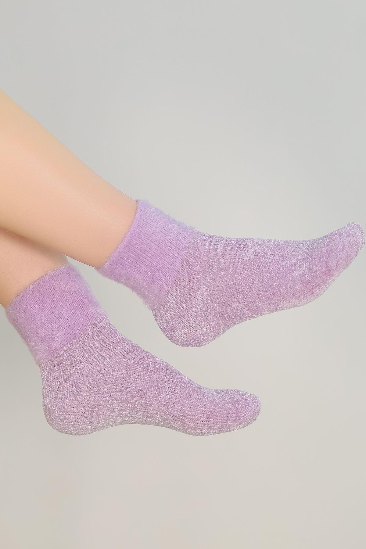 Renkli Bot Çorap Lila - 48300.1114.