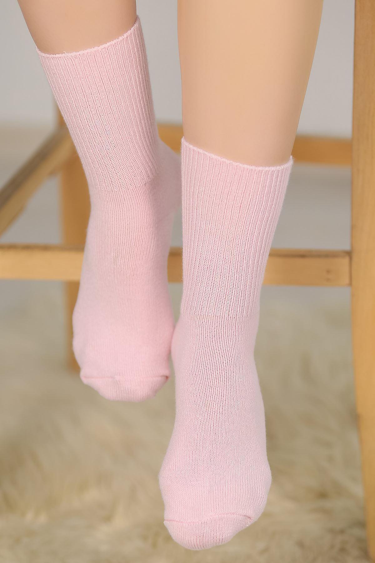 Renkli Bot Çorap Pudra - 48300.1114.