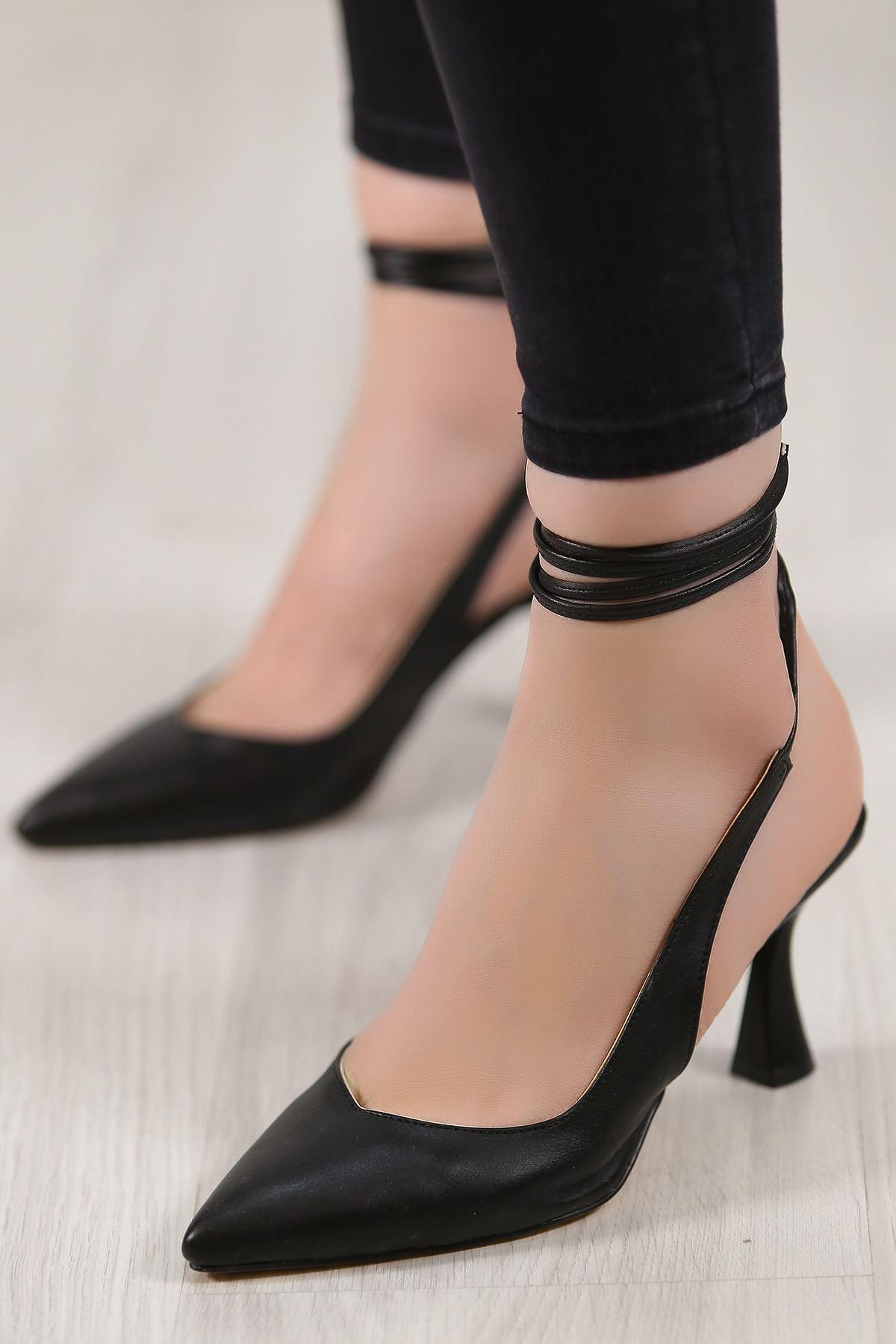 5cm Topuklu Ayakkabı Siyahderi - 4867.264.