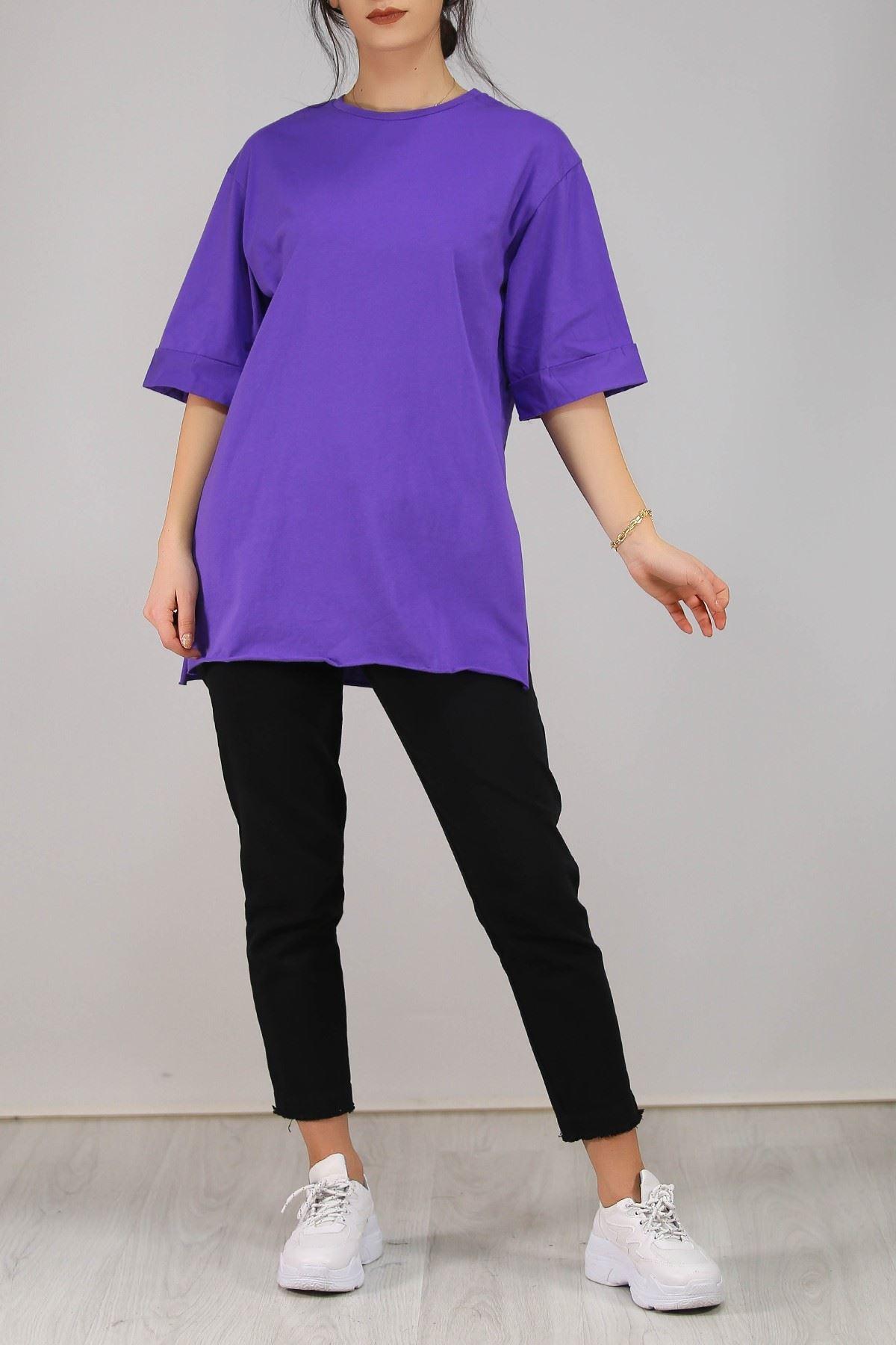 Süprem Salaş Tshirt Mor - 2946.222.