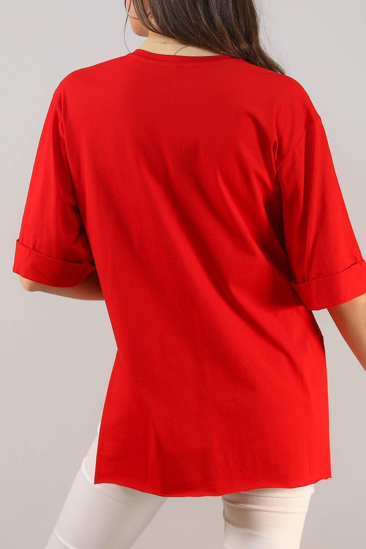 Süprem Salaş Tshirt Kırmızı - 2946.222.