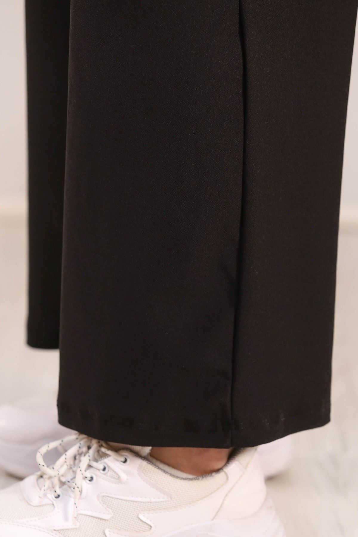 Duble Kol Örme Takım Siyah - 5064.994.
