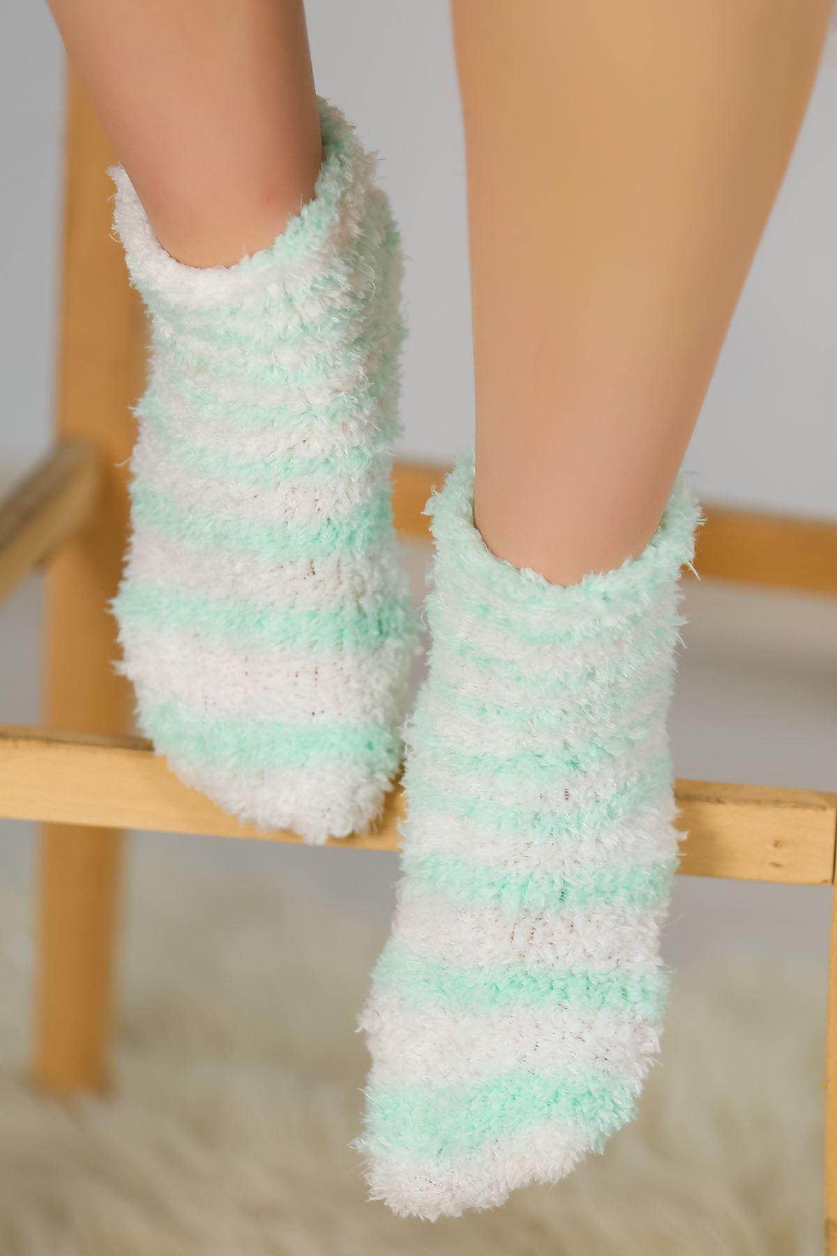 Peluş Çorap Mintyeşili - 30850.1114.