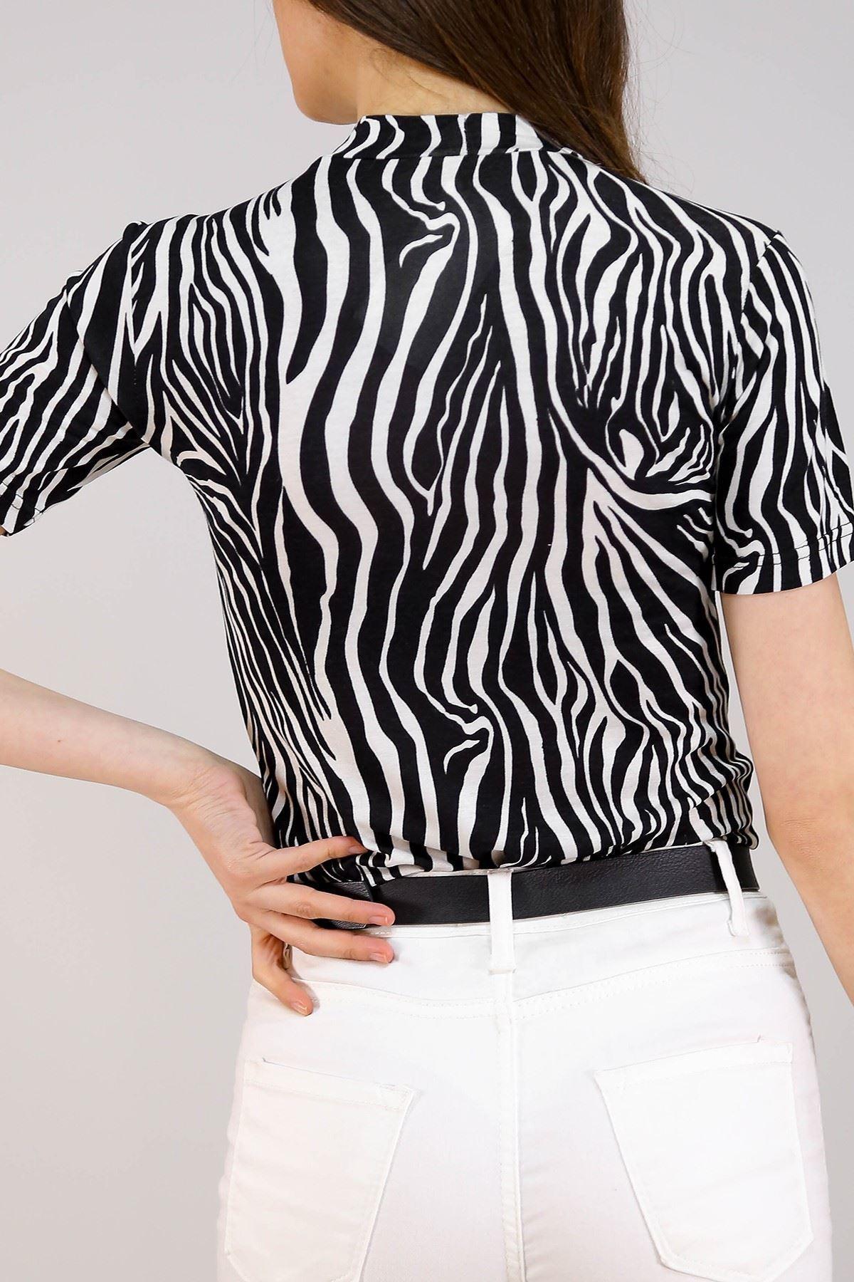 Desenli Body Zebra - 5292.1286.