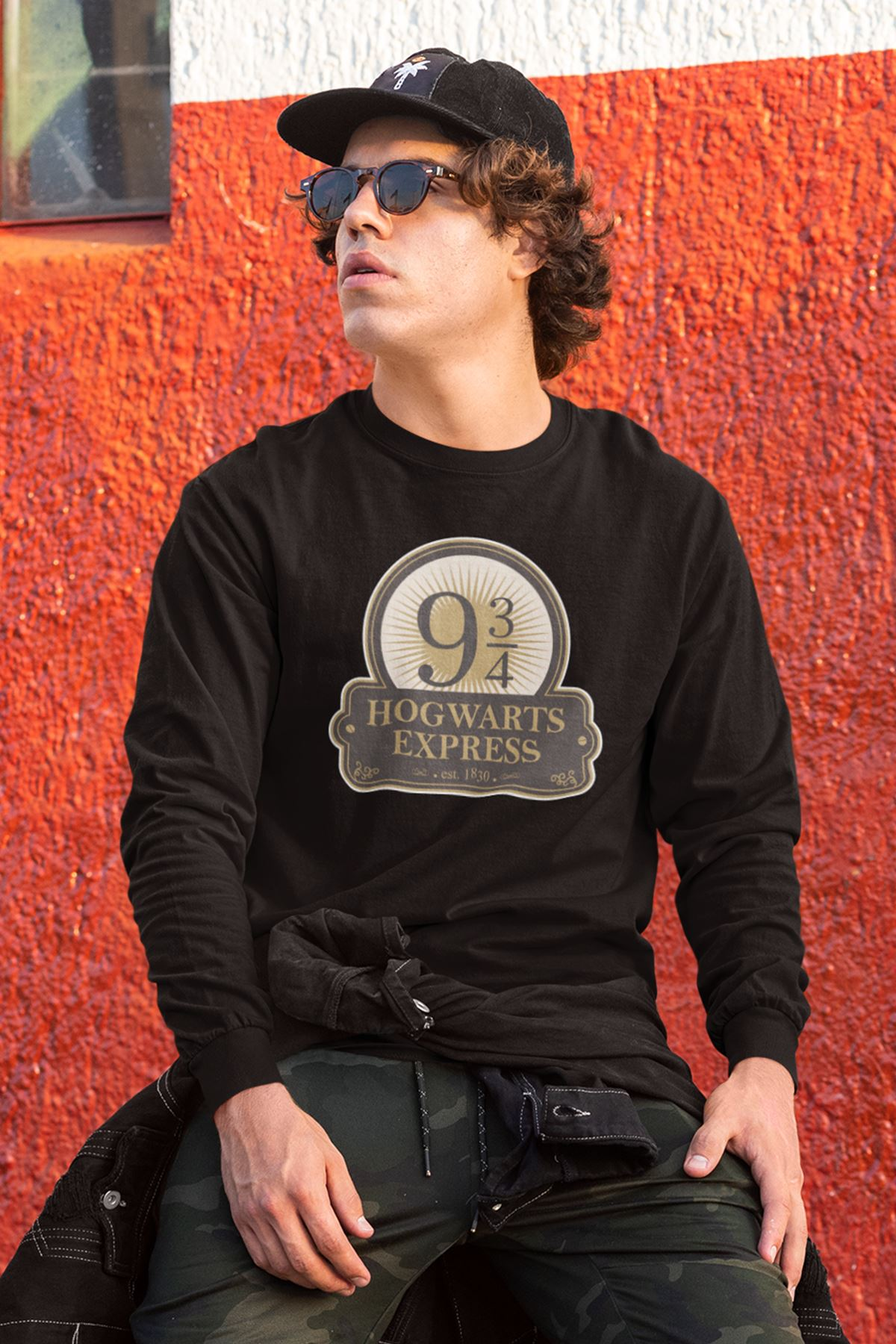 Harry Potter 61 Siyah Sweatshirt
