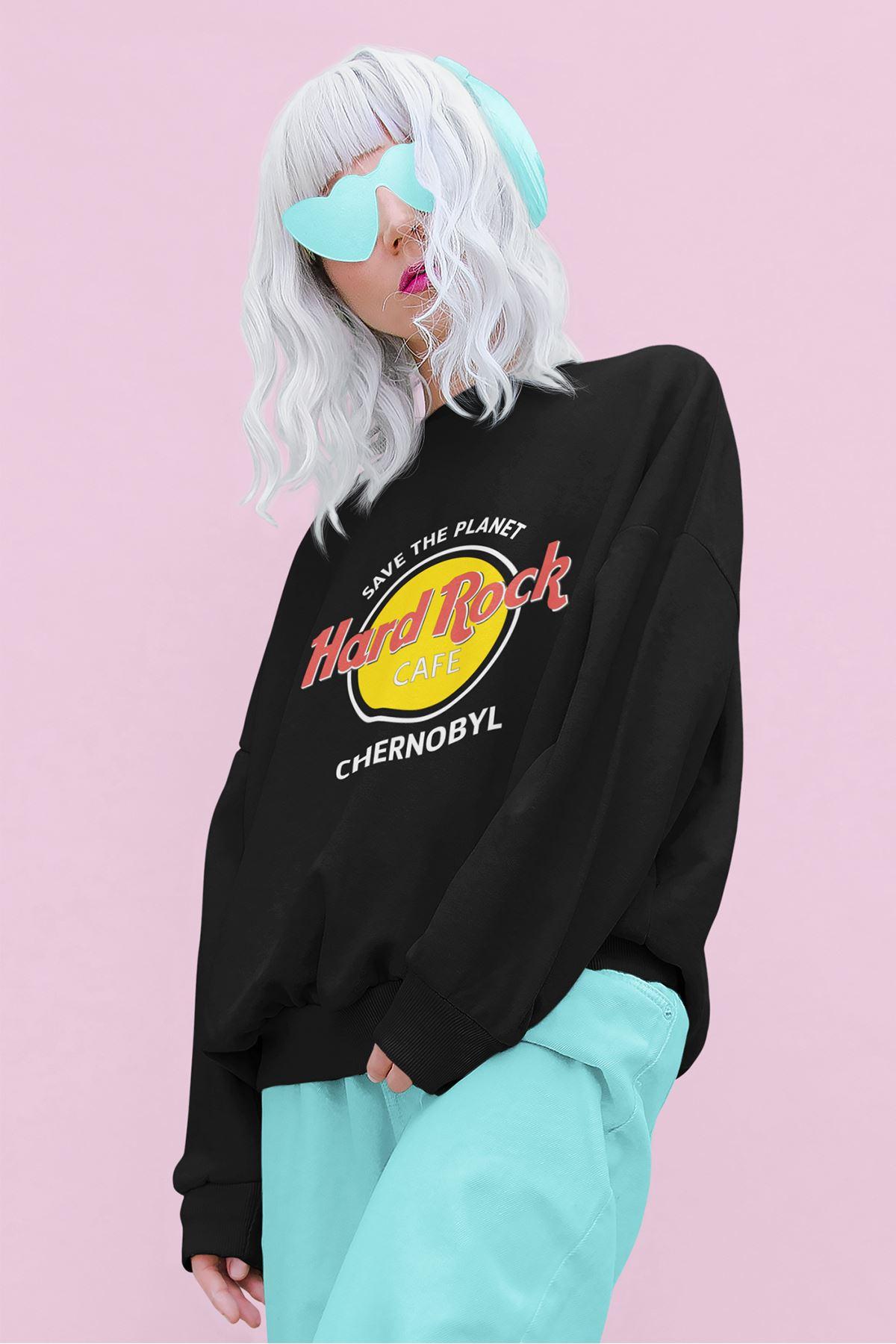 Hard Rock Cafe 58-K Siyah Sweatshirt