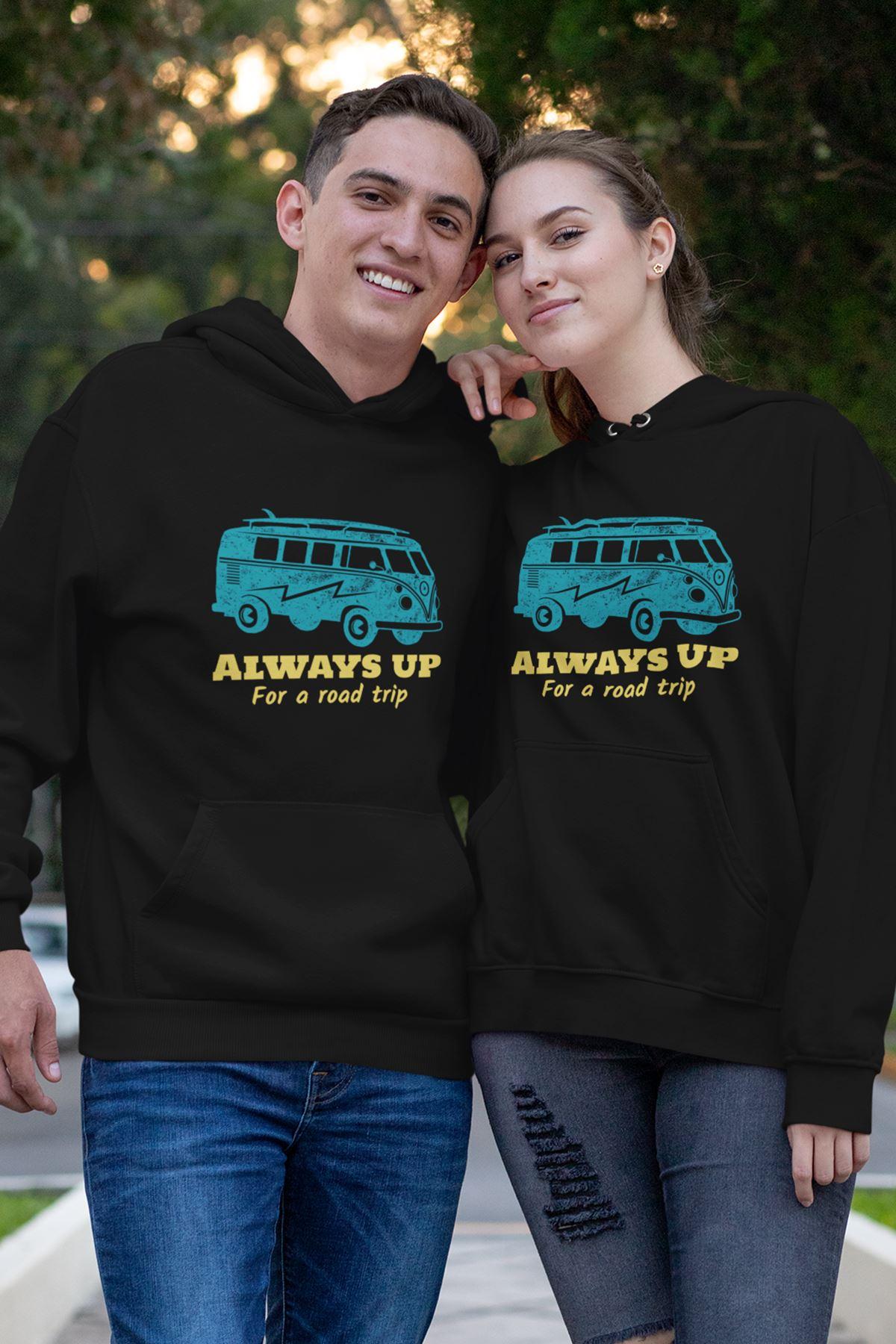 Sevgili Kombini Always Siyah Kapşonlu Sweatshirt - Tek Ürün Fiyatıdır.